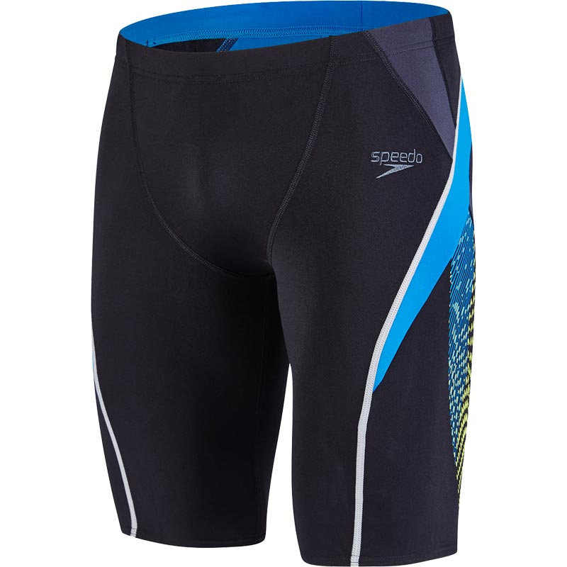 Speedo Fit Splice Jammer Black/Oxid Grey/Danube
