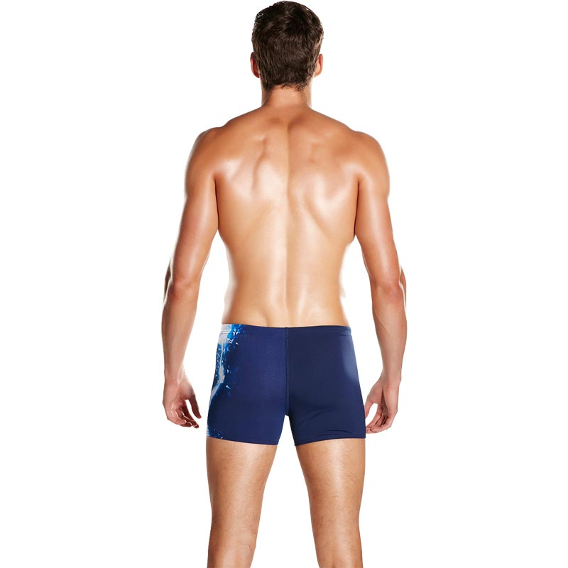 Speedo Placement Aquashort Navy/Bondi/White