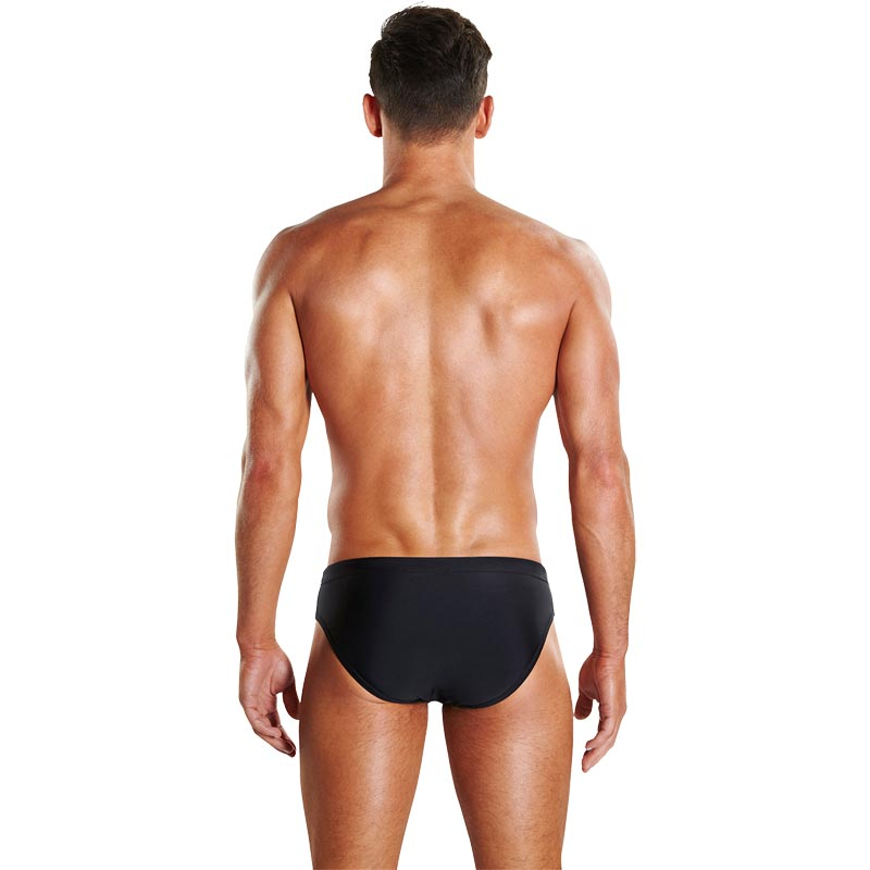Speedo Placement 7cm Brief Black/Turquoise/Lava Red