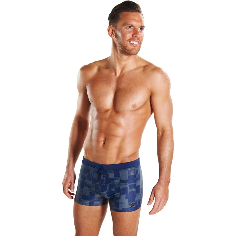 Speedo Valmilton Aquashort Navy/Usa Charcoal