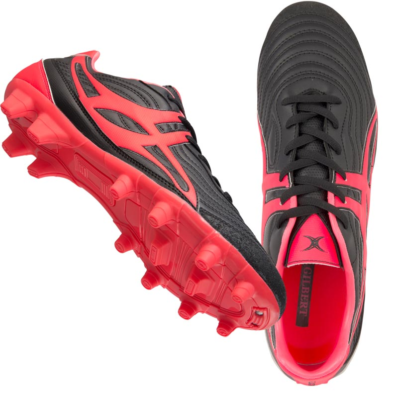 Gilbert Sidestep V1 MSX Firm Ground Low Junior Rugby Boot