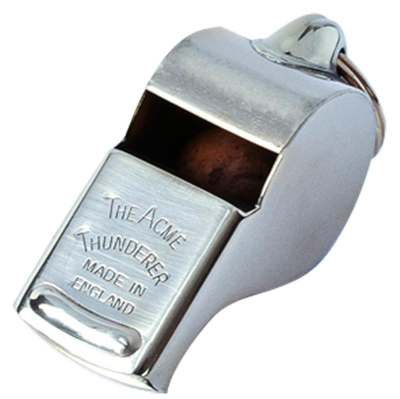 Acme 58 Thunderer Brass Whistle