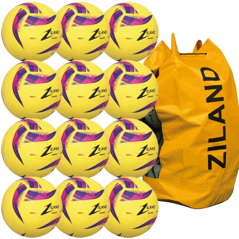 Ziland Pro Trainer Netball Yellow