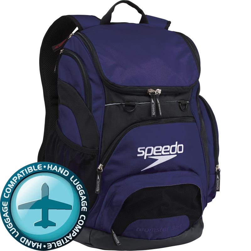 Speedo Teamster Backpack 35 Litre Navy/Black