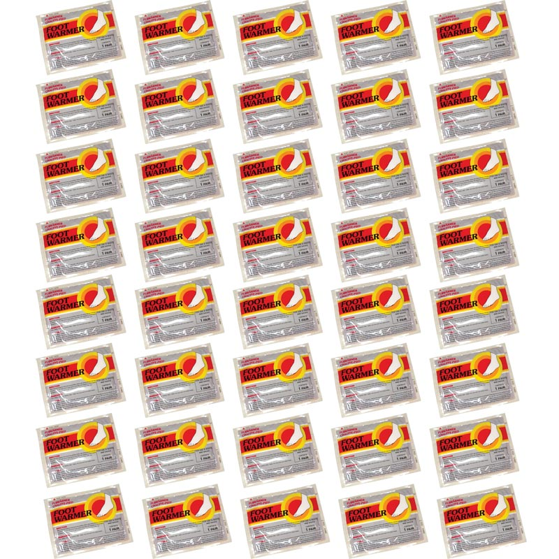 Mycoal Foot Warmers 40 Pair Pack