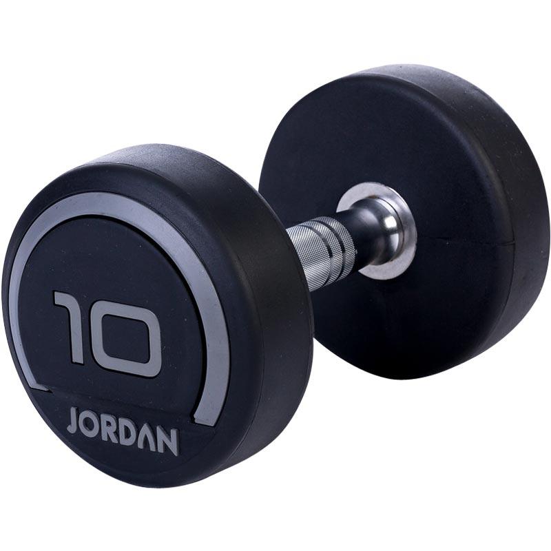Jordan V2 Classic Rubber Solid End Dumbbells