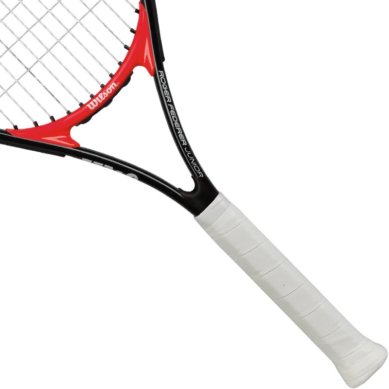 Wilson Roger Federer Junior Tennis Racket Black/Red