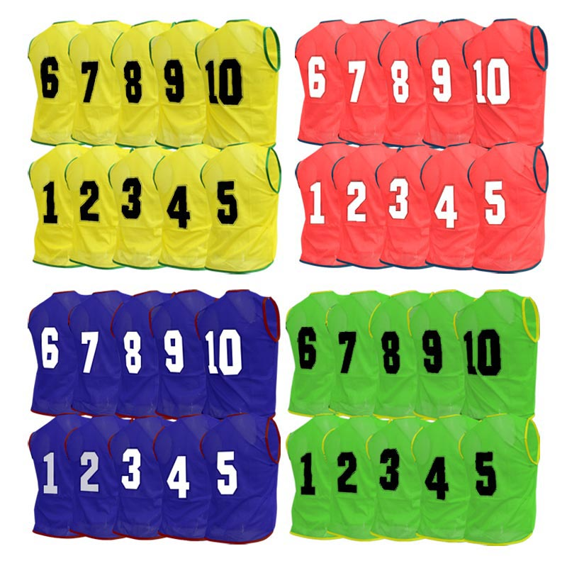 Numbered Training Bibs 40 Pack