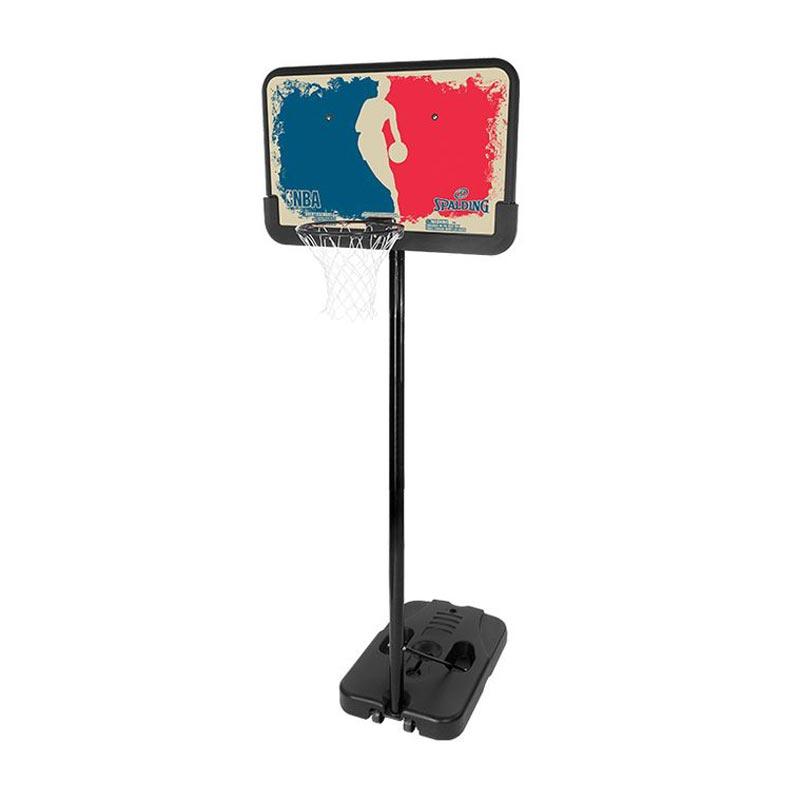 Spalding NBA Logoman Portable Basketball System