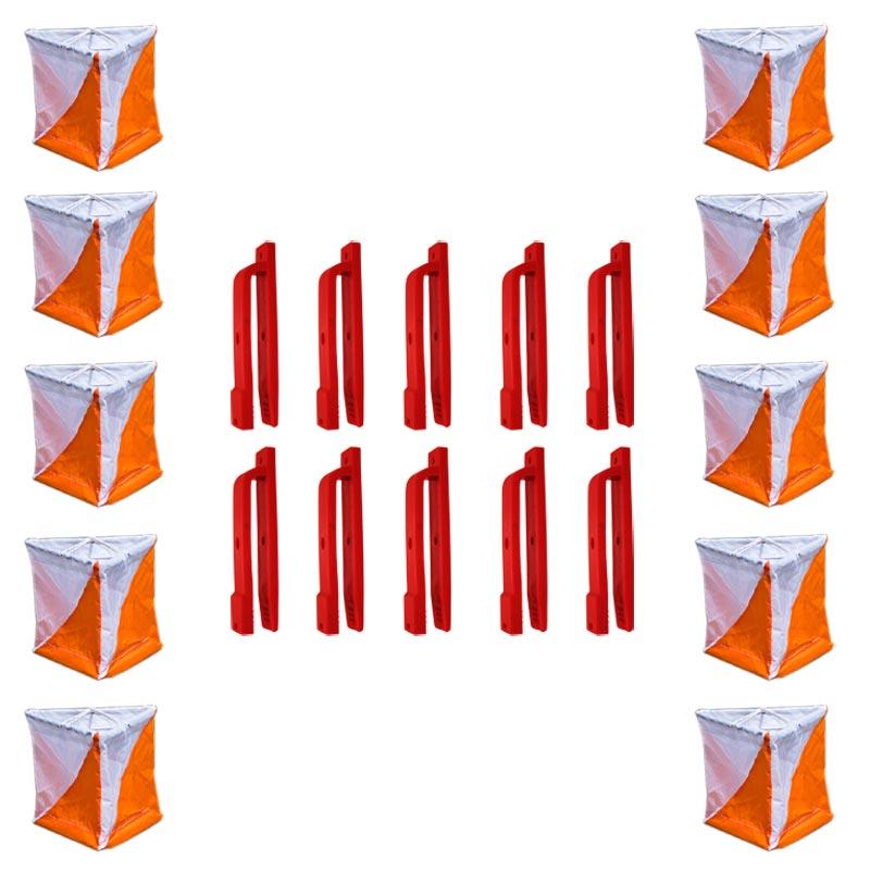 Orienteering Flag Marker 10 Pack