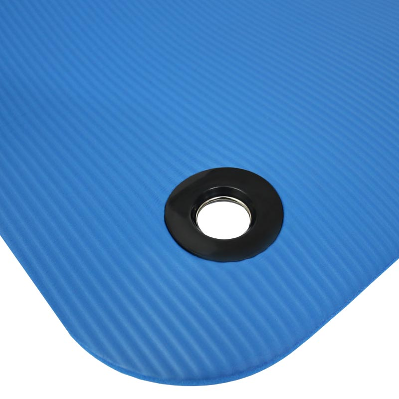 Beemat Premium Thick Exercise Mat With Eyelets 180cm 10 Pack