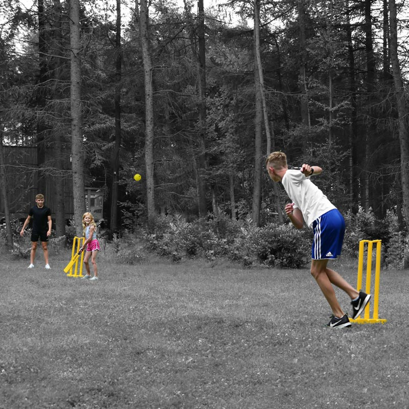 Elders Double Cricket Set