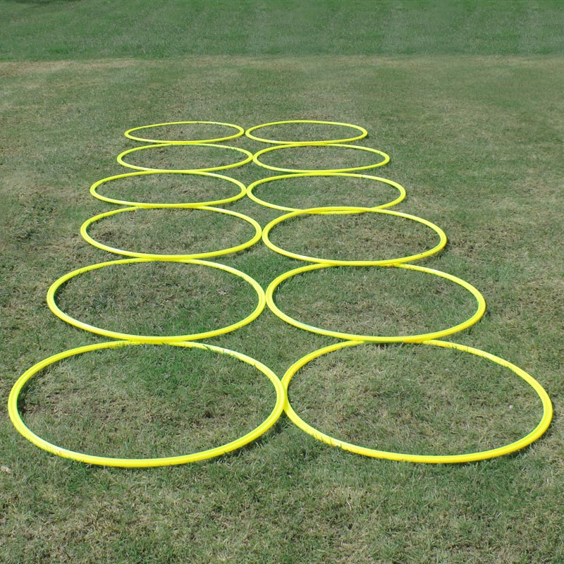 Ziland Pro Agility Rings 12 Pack