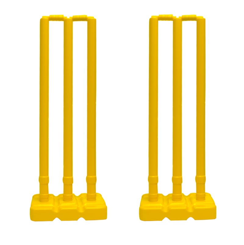 Elders Plastic Cricket Stump Double Set