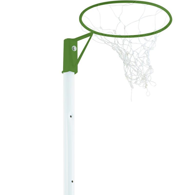 Harrod Sport Wheelaway Netball Posts Rio Green