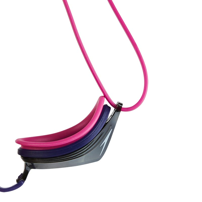 Speedo Vengeance Mirror Swimming Goggles Ecstatic Pink/Violet/Silver