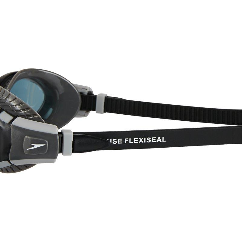 Speedo Futura Biofuse Flexiseal Swimming Goggle Grey/Black/Smoke