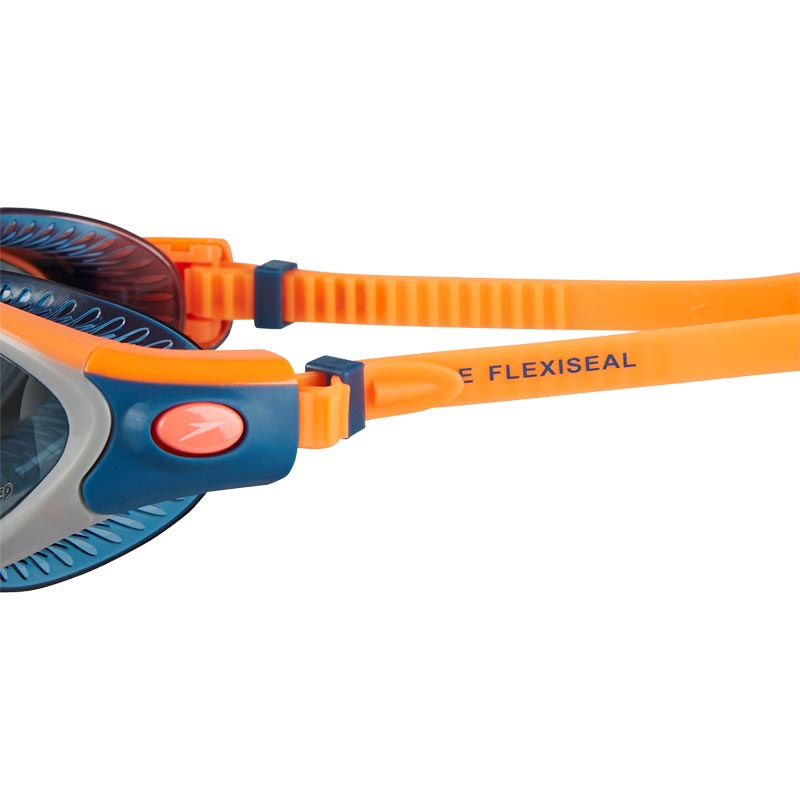 Speedo Futura Biofuse Flexiseal Triathlon Female Swimming Goggles Orange/Smoke