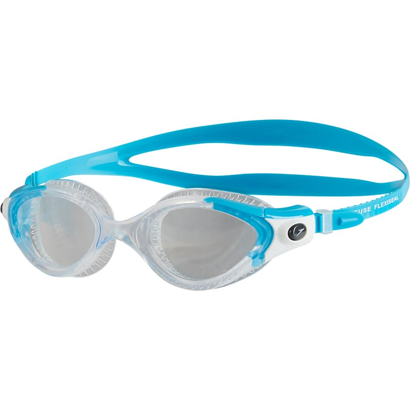 1d7f95f65557 Speedo Futura Biofuse Flexiseal Female Swimming Goggles Turquoise Clear.  Tap to expand