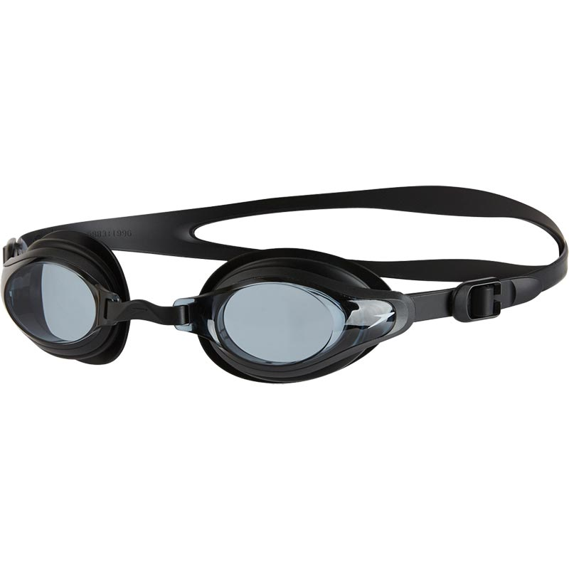 Speedo Mariner Supreme Swimming Goggles Black/Smoke