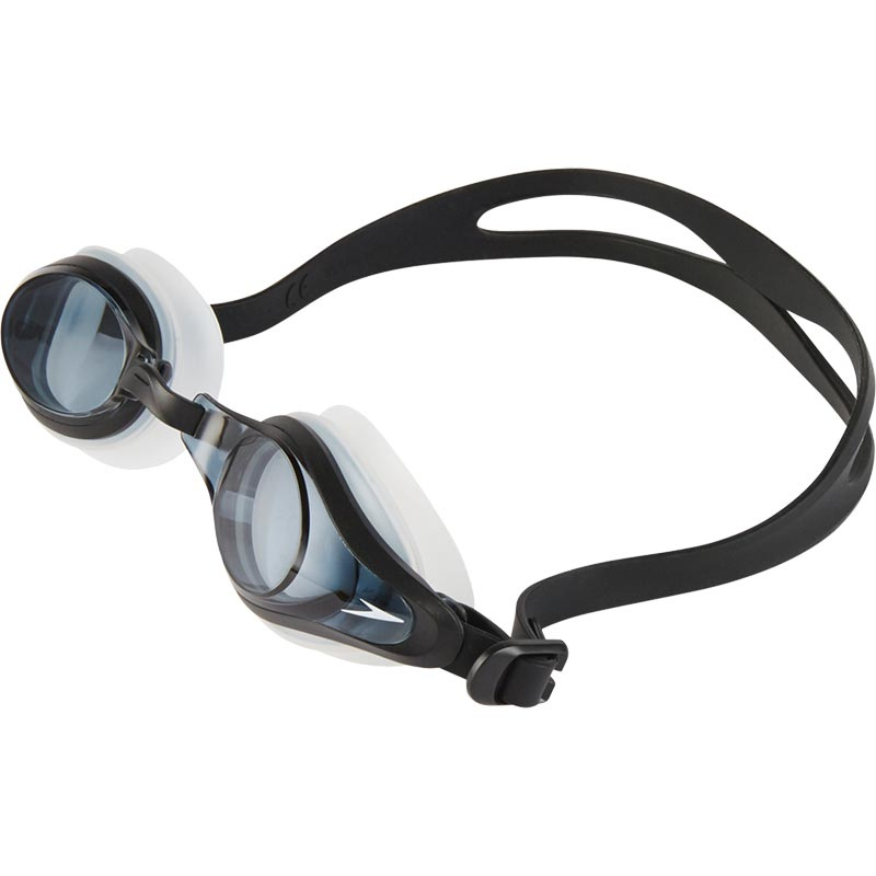 Speedo Mariner Supreme Prescription Swimming Goggles Clear/Black/Smoke