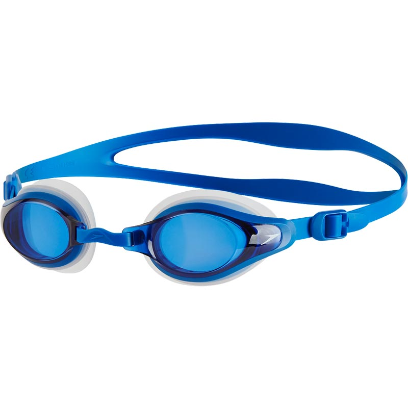Speedo Mariner Supreme Optical Prescription Swimming Goggles Clear/Blue