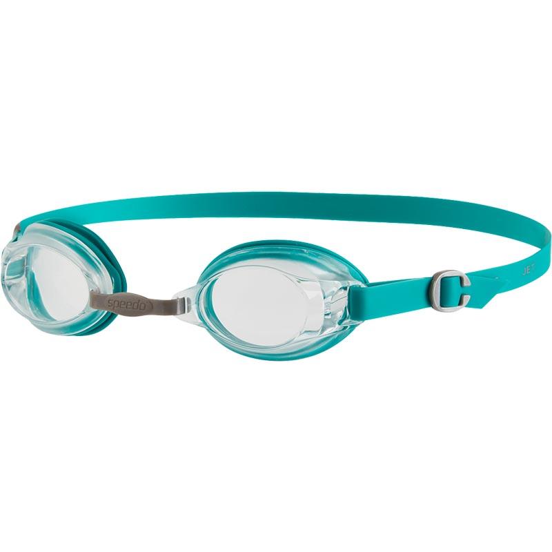 Speedo Jet Swimming Goggles Jade/Clear