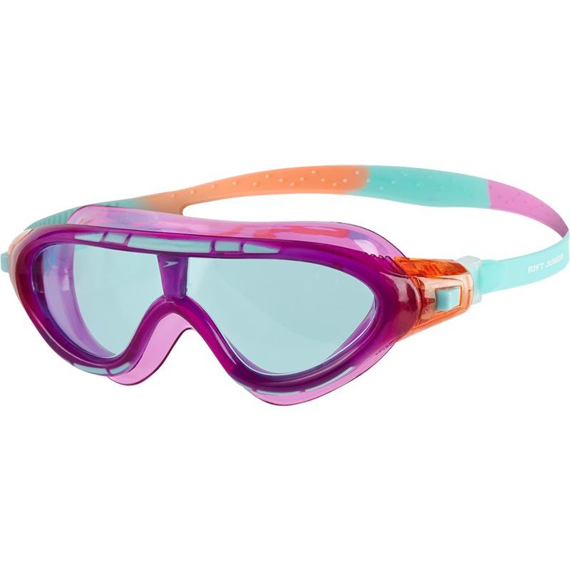 Speedo Junior Rift Swimming Mask Purple/Pink/Peppermint