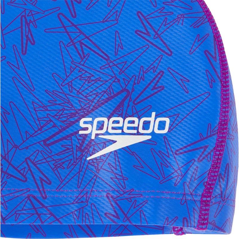 Speedo Boom Ultra Pace Swimming Cap Royal Blue/Diva