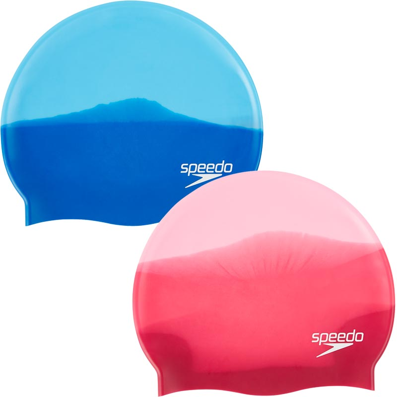 Speedo Multi Coloured Senior Silicone Swimming Cap