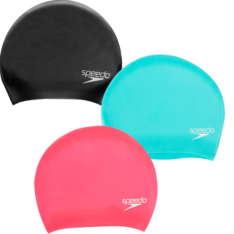 Speedo Long Hair Senior Silicone Swimming Cap
