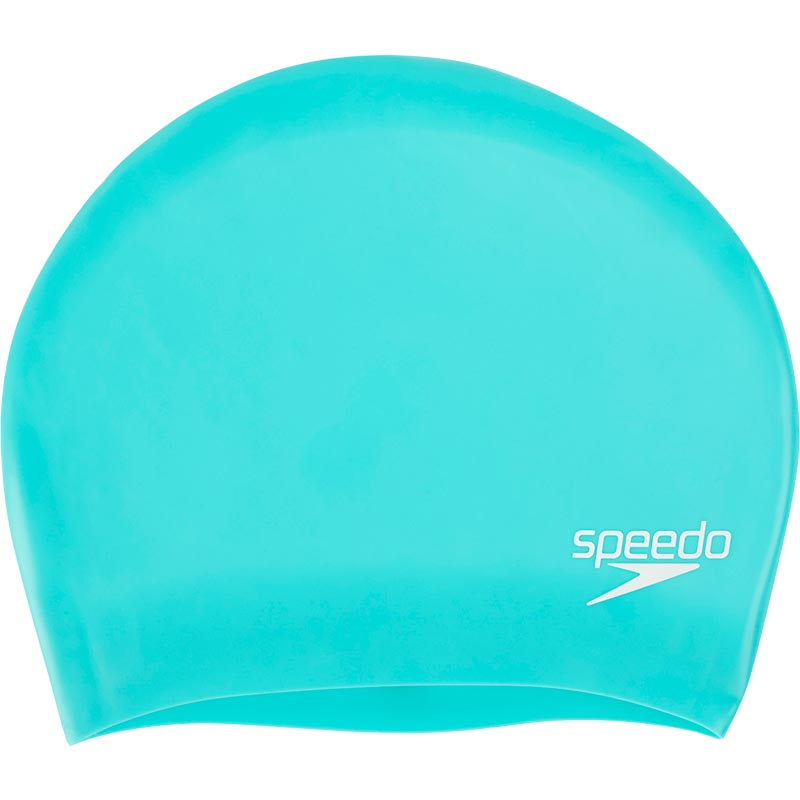 Speedo Long Hair Senior Silicone Swimming Cap Spearmint