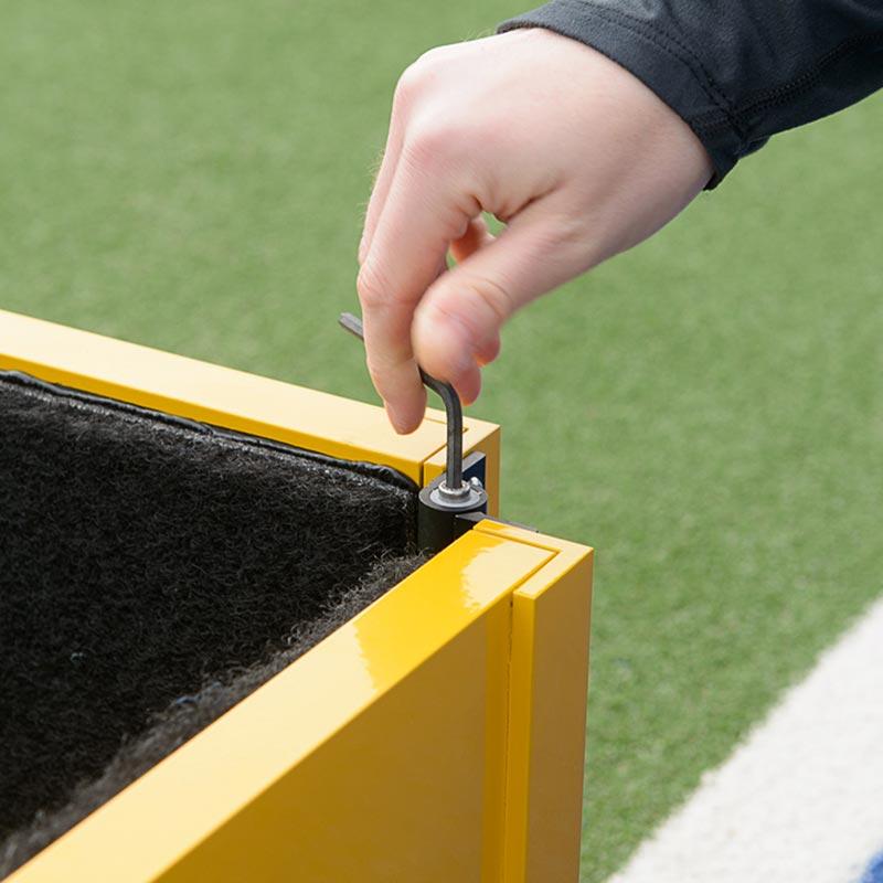 Harrod Sport Folding Hockey Target Board