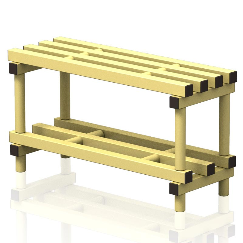 Vendiplas Single Bench 90cm