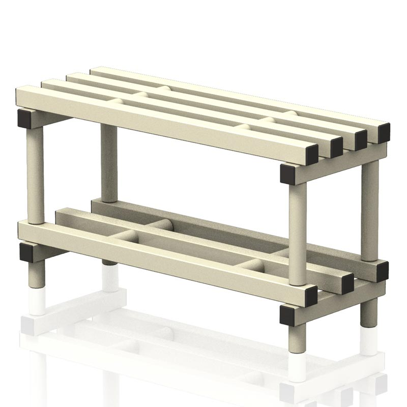 Vendiplas Single Bench 90cm