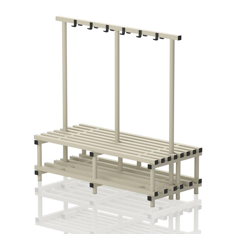 Vendiplas Double Sided Bench With Hanger