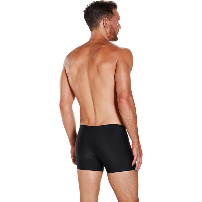Speedo Gala Logo Aquashort Black/White