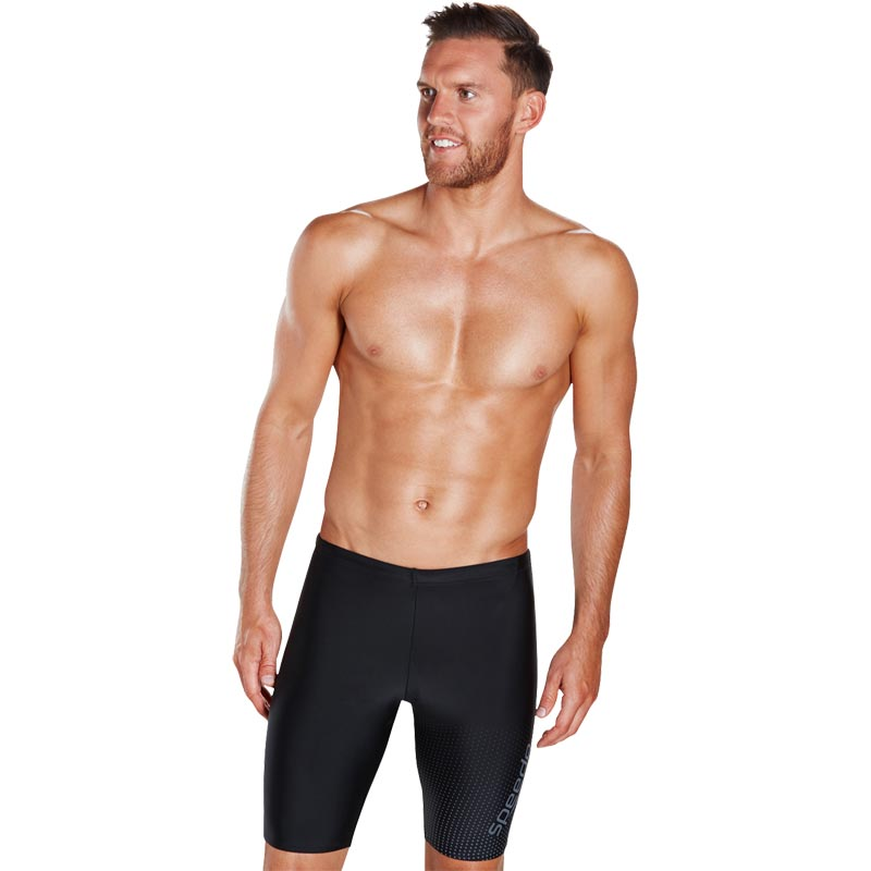 Speedo Gala Logo Jammer Black/USA Grey