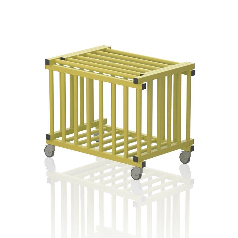 Vendiplas Mobile Ball Trolley Vertical