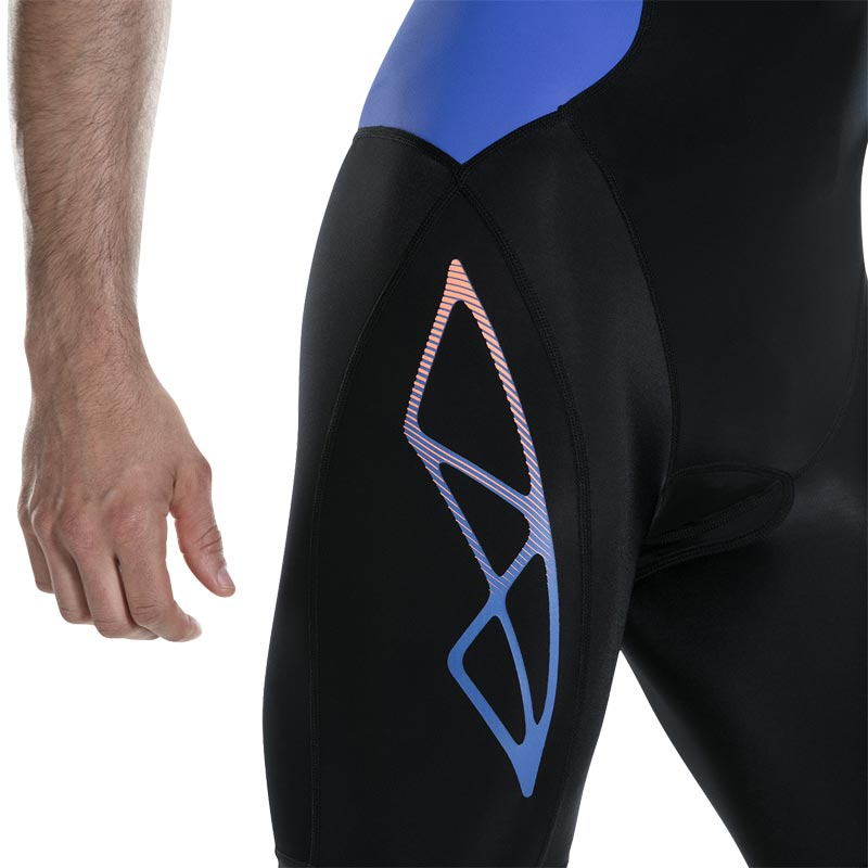 Speedo Fastskin Xenon Tri Suit Black/Ultramarine/Blue