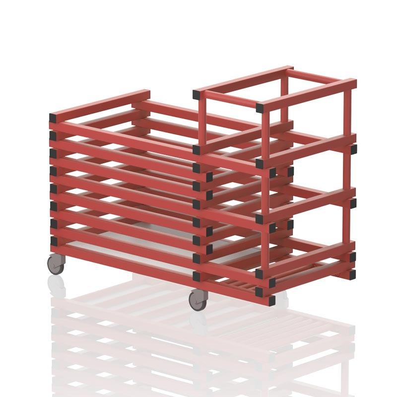 Vendiplas Equipment Trolley Horizontal