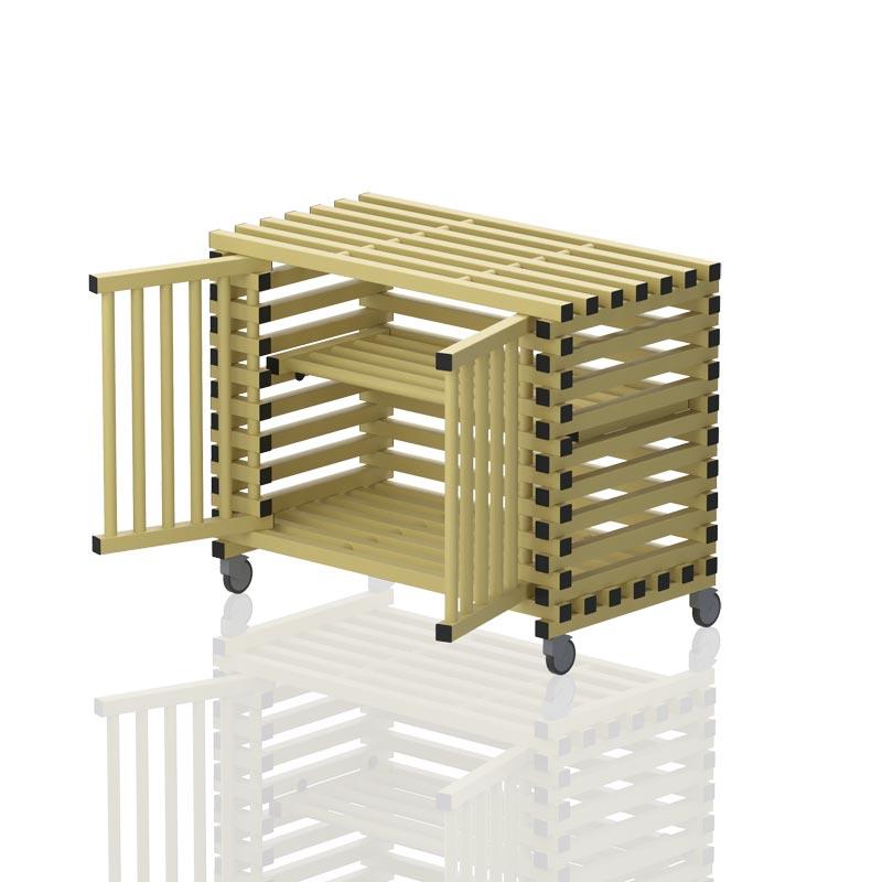 Vendiplas Mobile Cabinet Small