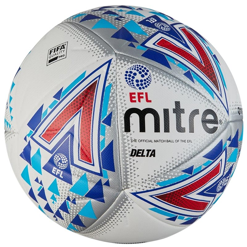 Mitre Delta Legend Match Football White