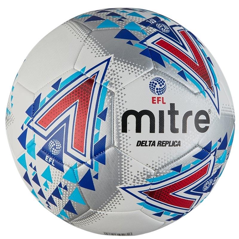 Mitre Delta Legend Training Football White