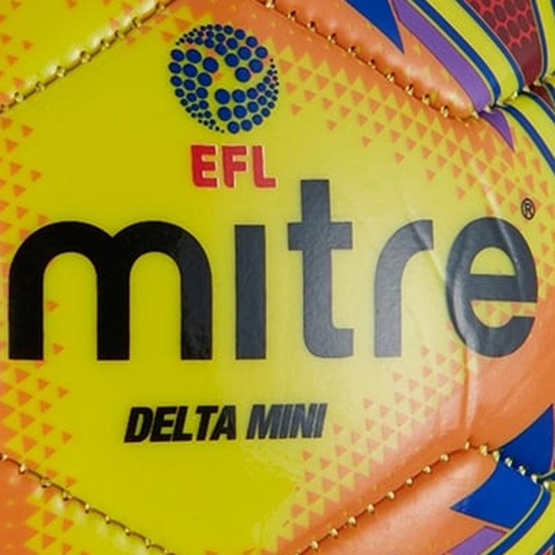 Mitre Delta Legend Mini Football Yellow