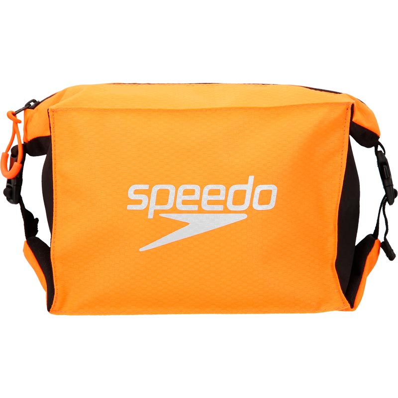 Speedo Poolside Bag Black/Fluo Orange