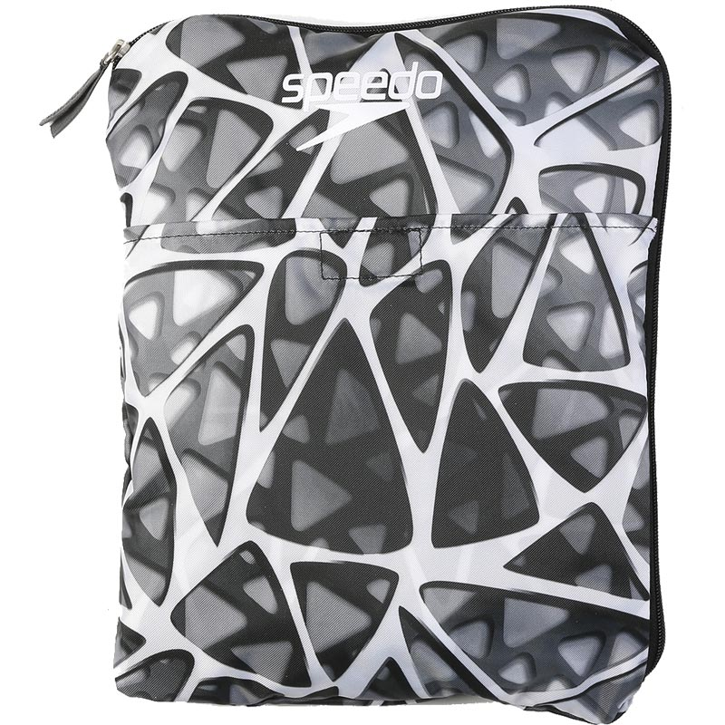Speedo Deluxe Ventilator Mesh Bag - Cage White