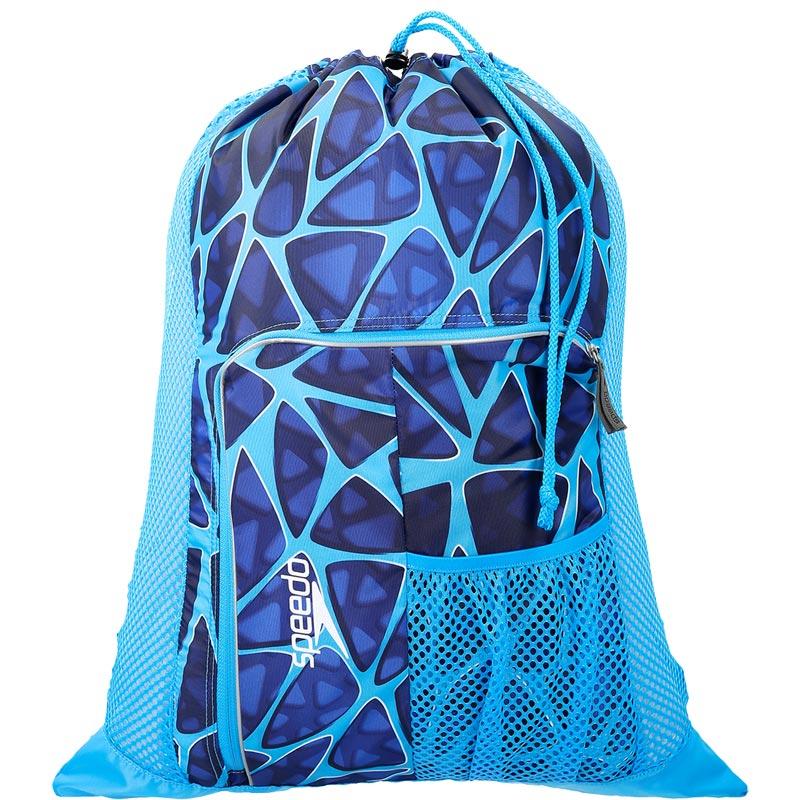 Speedo Deluxe Ventilator Mesh Bag - Cage Blue
