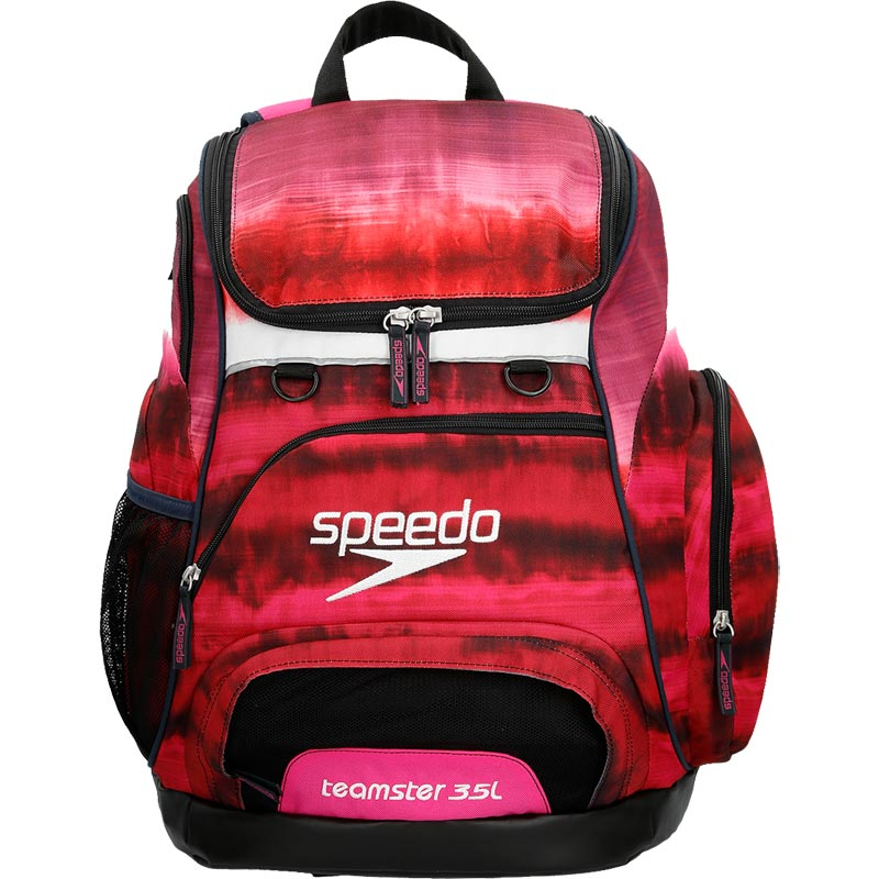 Speedo Teamster Backpack 35 Litre Tie Dye Pink