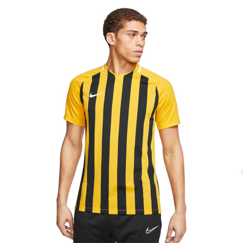 Nike Striped Division III Short Sleeve Senior Football Shirt